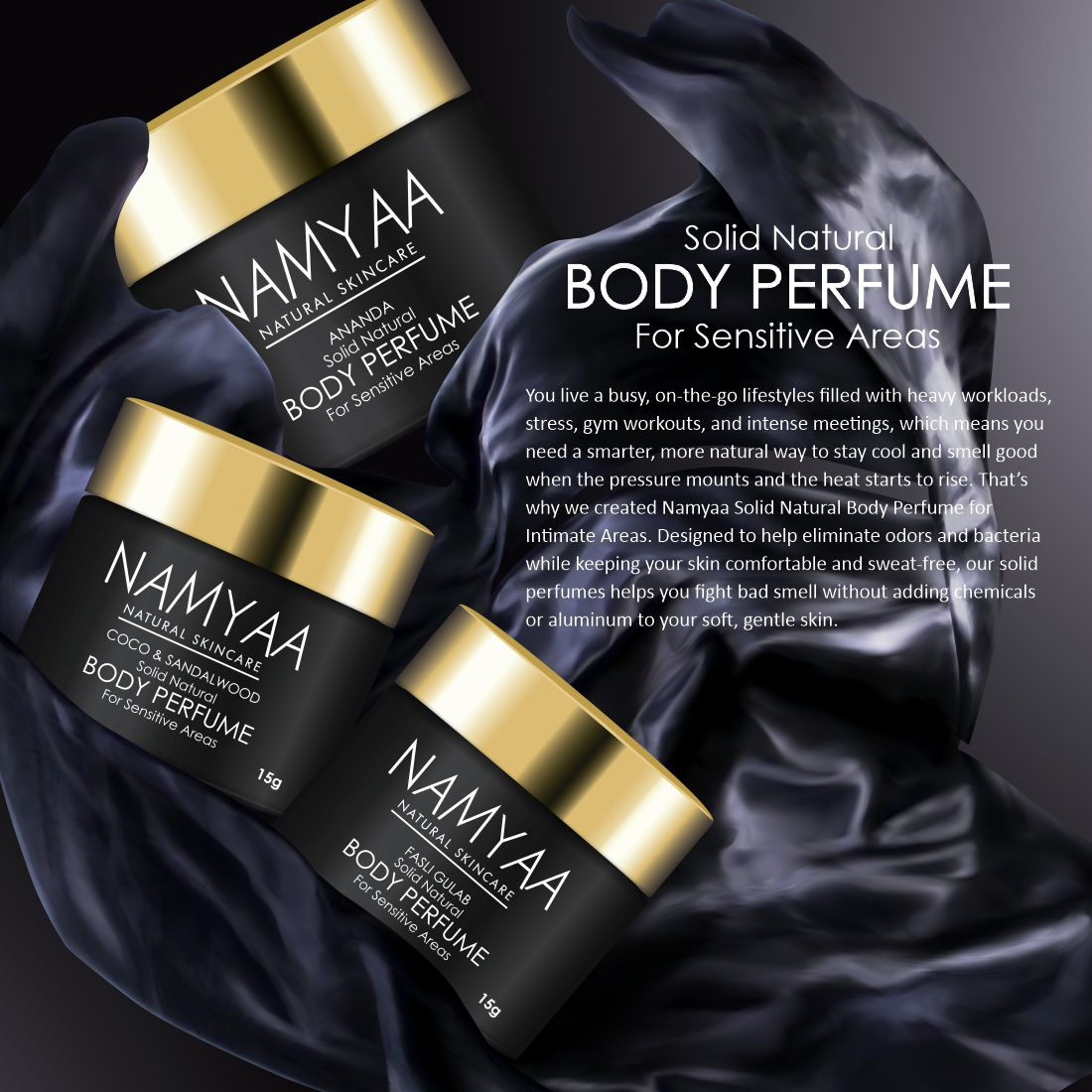 Body Perfume for Sensitive Areas