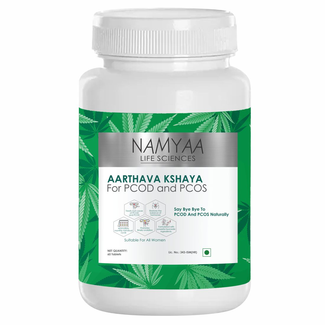 Aarthava Kshaya PCOD and PCOS Tablets