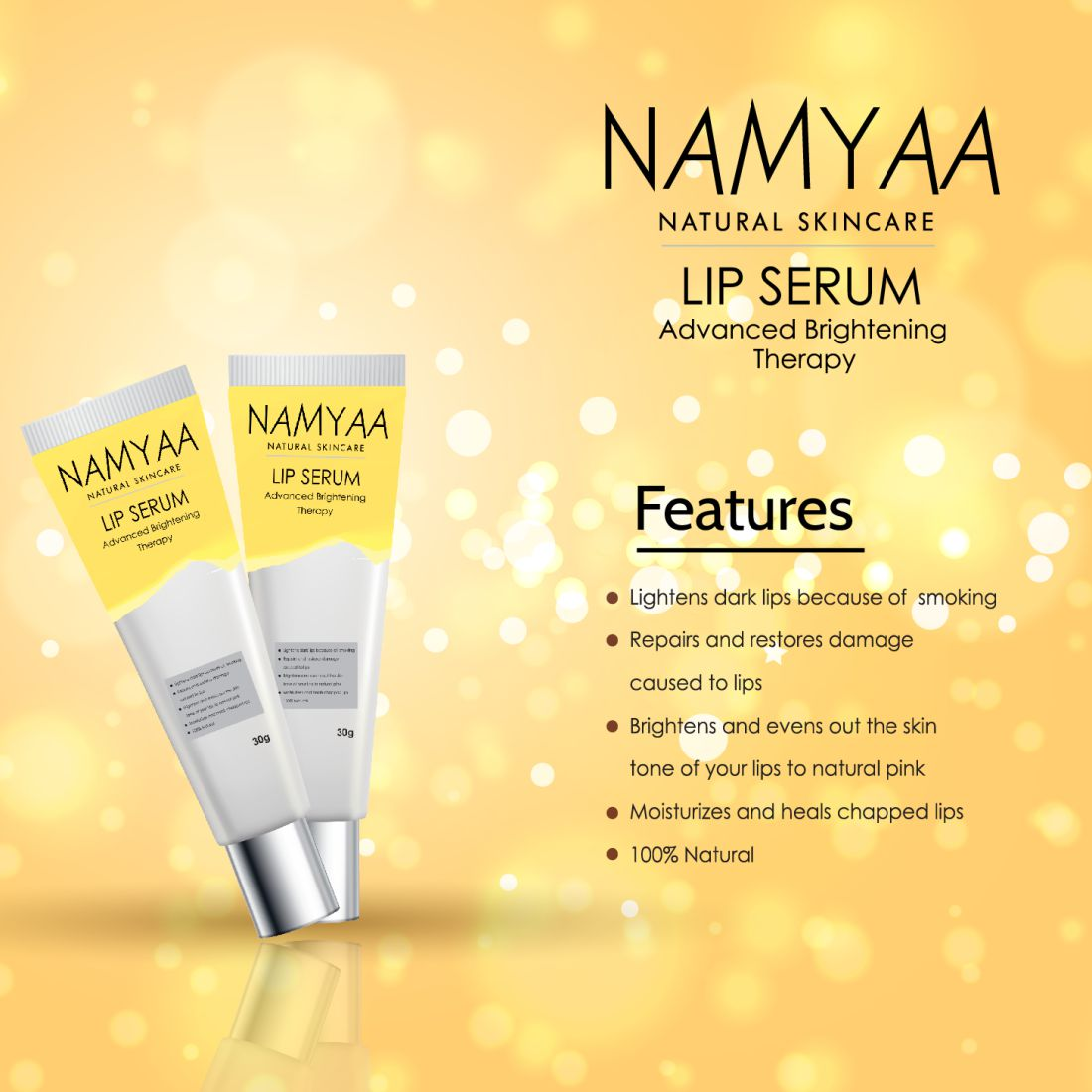 Lip Lightener Serum - Namyaa