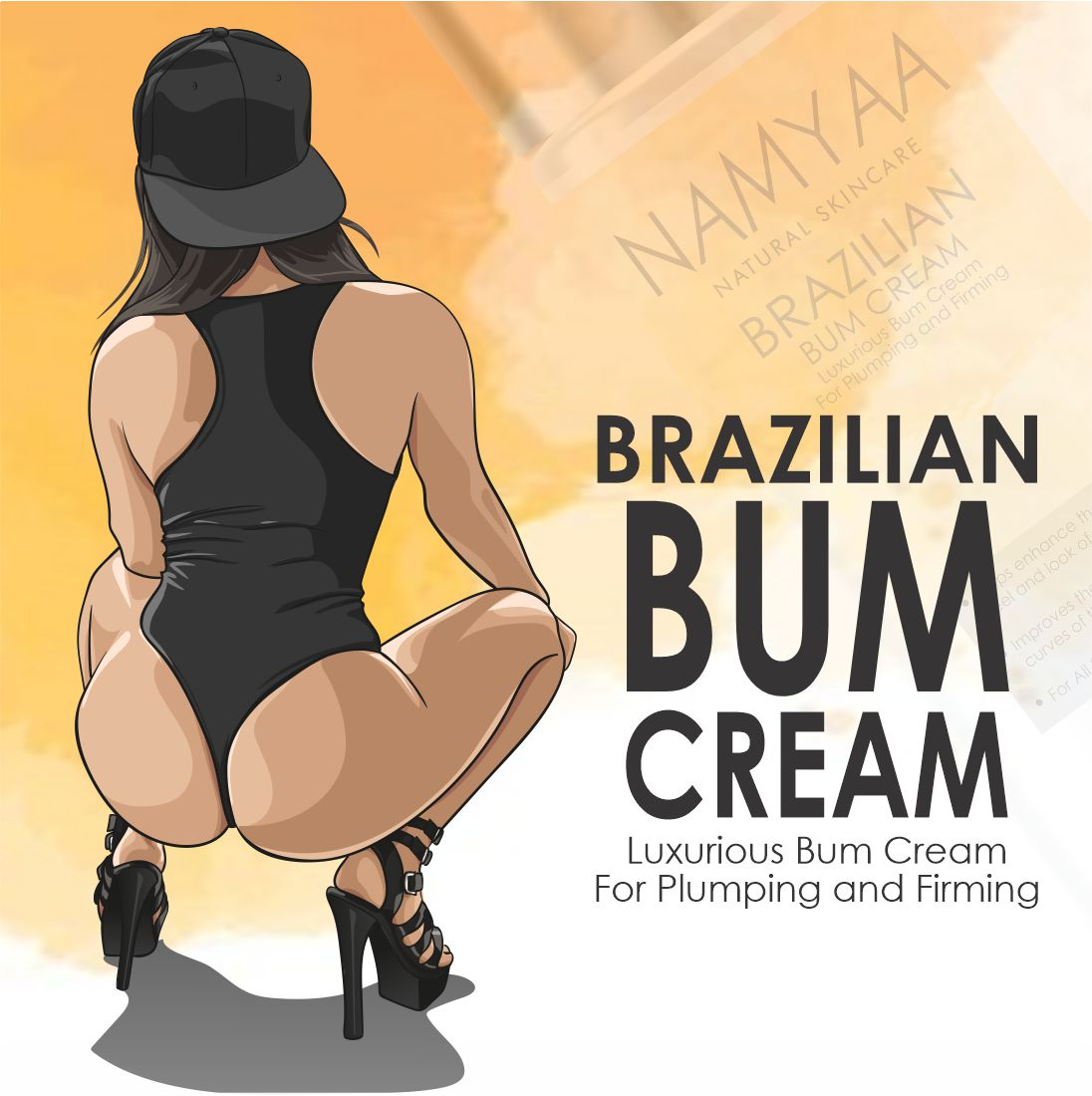 Bum Cream for Plumping and Toning
