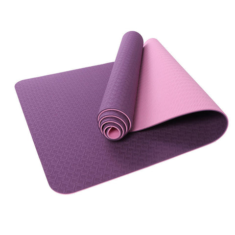 Basic Double Color Fitness Yoga Mat 6mm