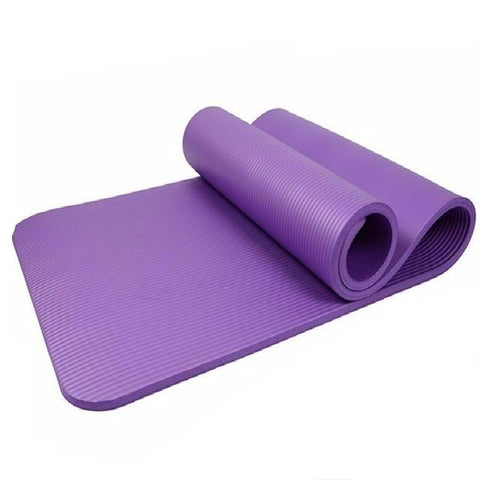 Basic One Color Fitness Yoga Mat 10mm