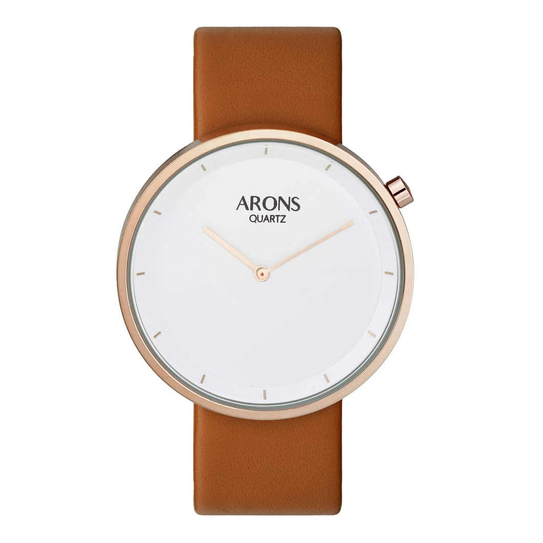 MAURS Rose Gold - ARONS WATCH
