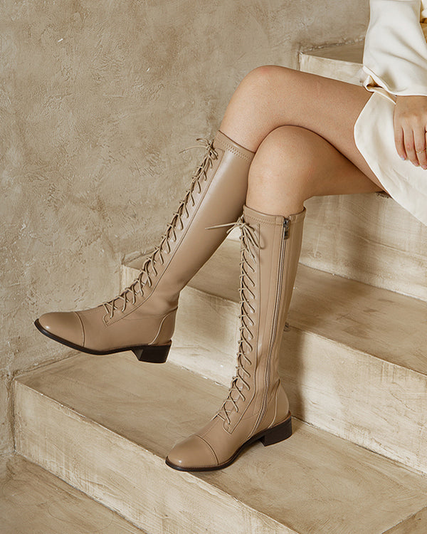 Ashanti Knee High Boots