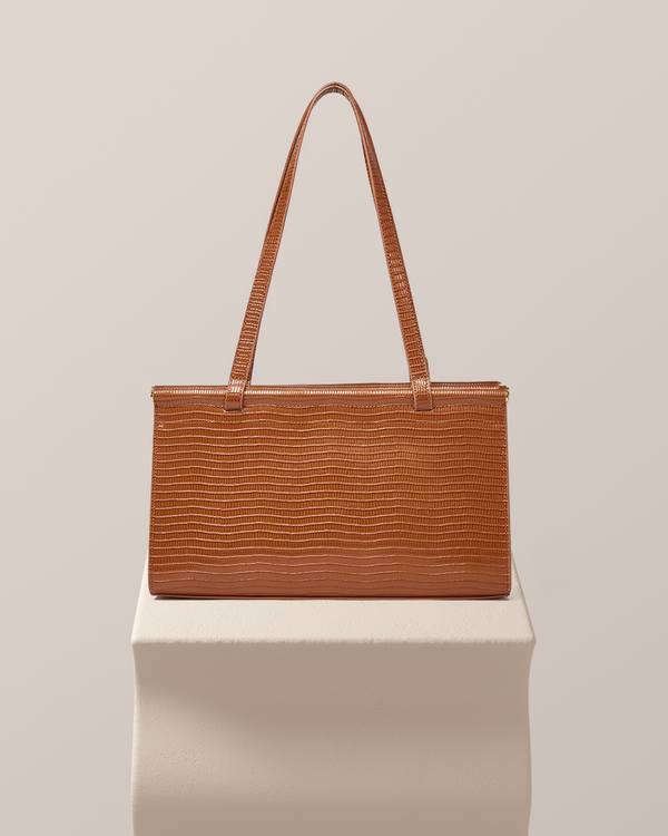 Azalea Leather Tote Bag