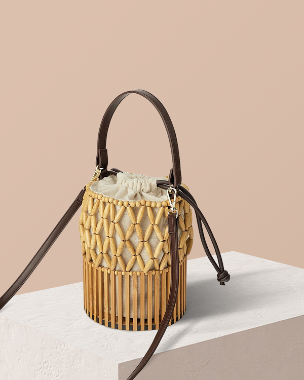 Theo Bamboo Bucket - Natural