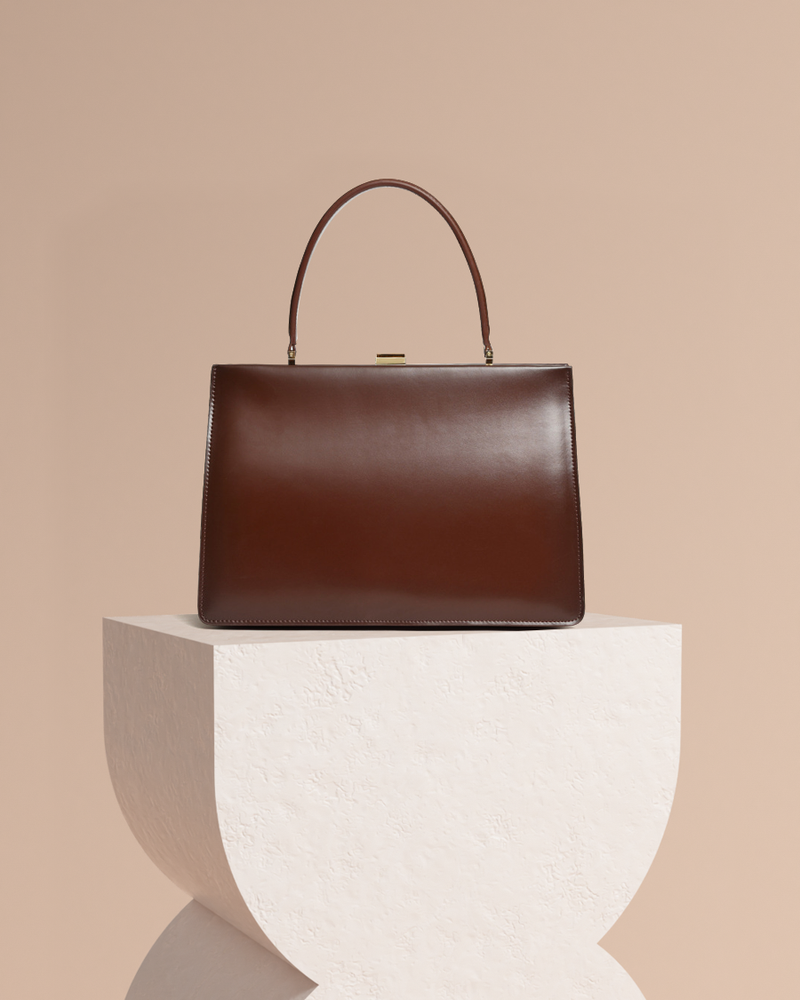 Diana Leather Tote Bag