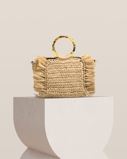 Savannah Straw Bag - Natural
