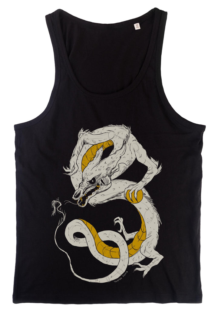Golden Kin Dragon Tank Top