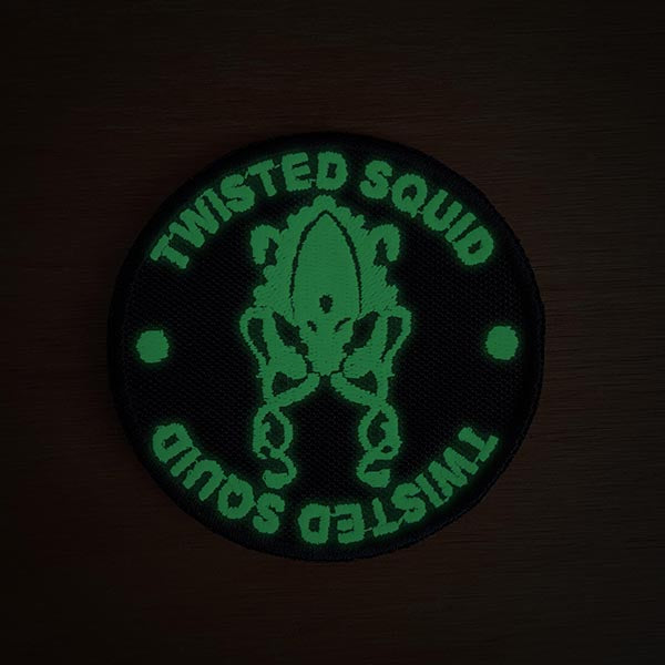 Glow in the dark Logo Patch