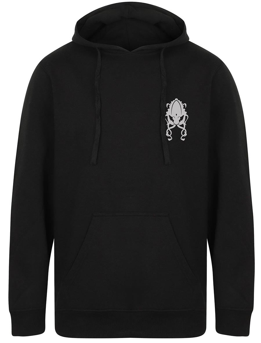 Mad Mike Back & Pocket Print Hoodie