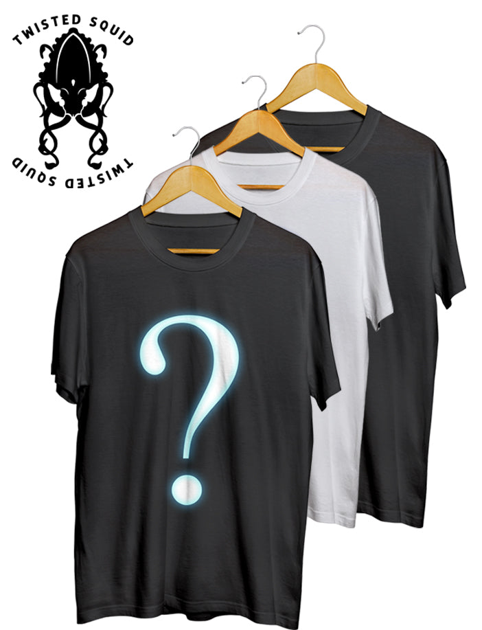 Twisted Squid Mystery T-Shirt Bundle (3 Tees & 3 Prints)