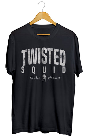 Twisted Squid Black Tee - Twisted Squid