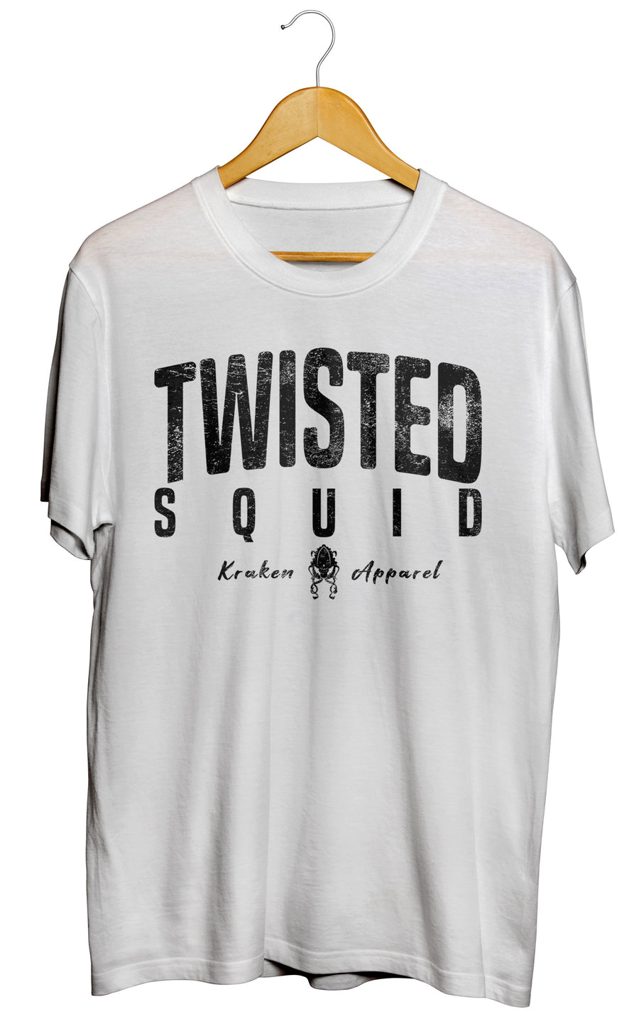 Twisted Squid White Tee - Twisted Squid