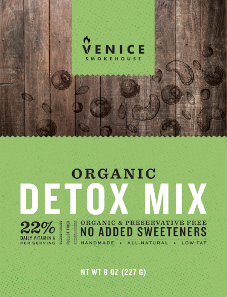 Organic Detox Trail Mix