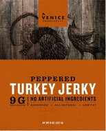 Peppered Turkey Jerky