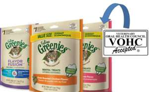 Look for the VOHC seal like on Greenies.