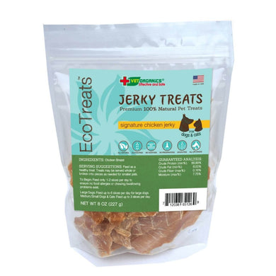 EcoTreats™ Signature Chicken Jerky Cat & Dog Treats, 8-oz bag