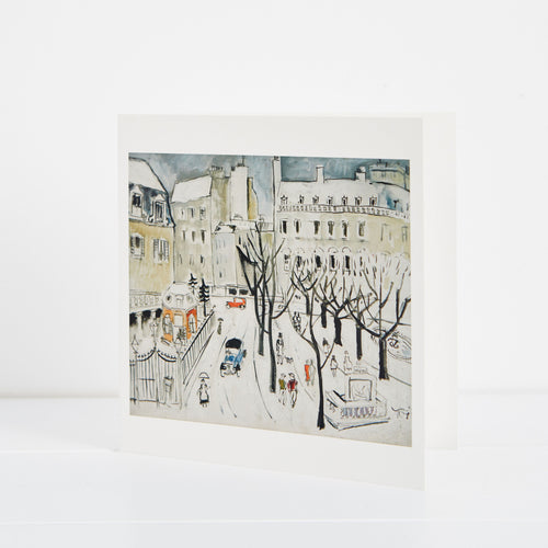 Christopher Wood Paris Snow Scene Christmas Cards Pack of 5  1