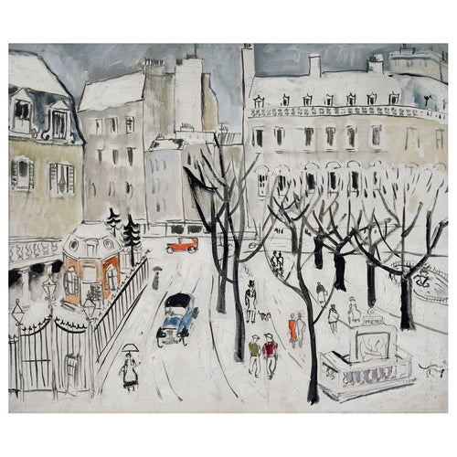 Christopher Wood Paris Snow Scene Christmas Cards Pack of 5  2