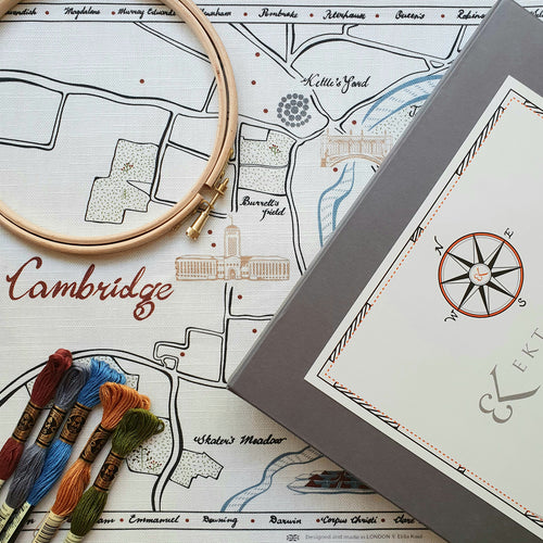 Ekta Kaul Ekta Kaul Cambridge Embroidery Kit 1