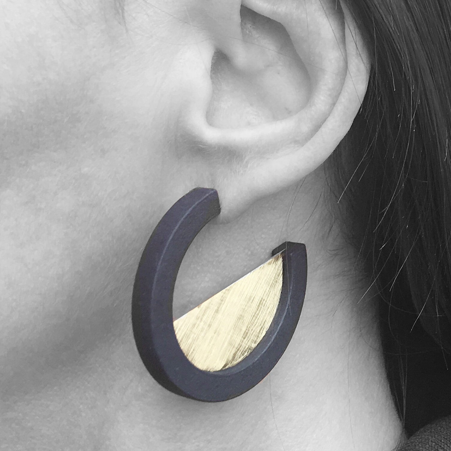 Elsie M - CONSIGNMENT Elsiem Vibe Circle Earrings (VB05) 1