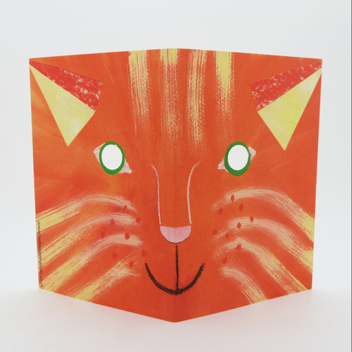 Hadley Paper Goods Hadley Cat Mask Greetings Card 2