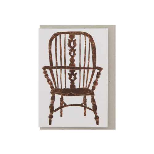 Hadley Paper Goods Hadley x Kettle's Yard Chairs Folding Greetings Card 1