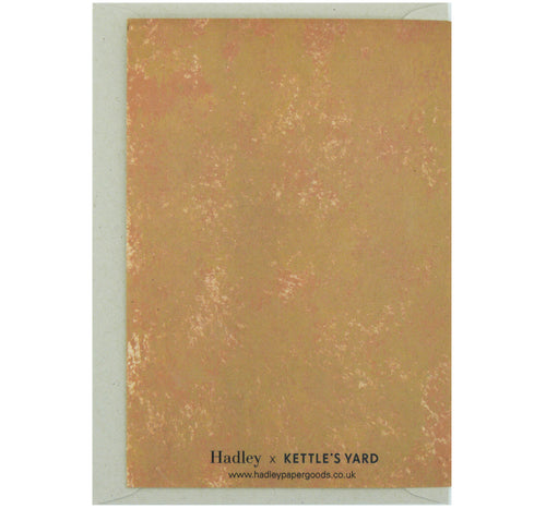 Hadley Paper Goods Hadley x Kettle's Yard Jazzy Jumper Greetings Card 2