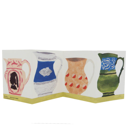 Hadley Paper Goods Hadley x Kettle's Yard Jugs Folding Greetings Card 1
