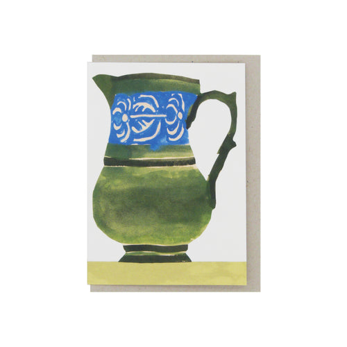 Hadley Paper Goods Hadley x Kettle's Yard Jugs Folding Greetings Card 2