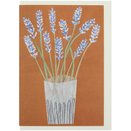 Hadley Paper Goods Hadley x Kettle's Yard Lavender Greetings Card 1