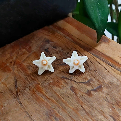 Just Trade Just Trade for Kettle's Yard Hoya Flower Stud Earrings 2