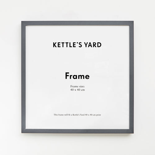 King and McGaw Frame Square 40 x 40cm - Grey Friar 1