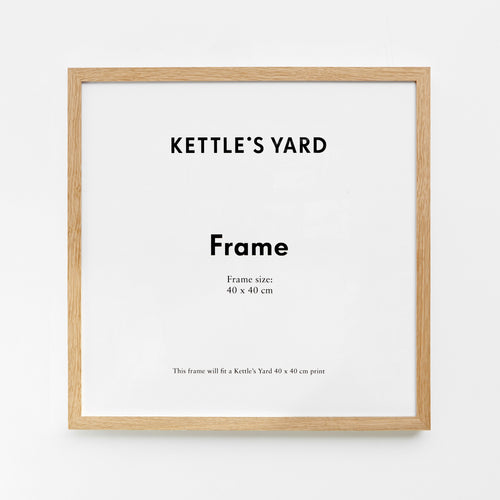 King and McGaw Frame Square 40 x 40cm - Oak 1