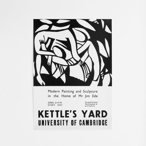 King and McGaw Kettle's Yard 'Wrestlers' Reproduction Vintage Poster 1