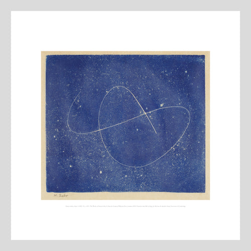 King and McGaw Naum Gabo Opus 9 Square Unframed Print with Mount 1