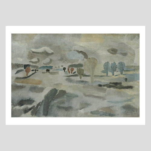 Langham Press Ben Nicholson 1927 (snowscape) Greetings Card Pack of 8 1