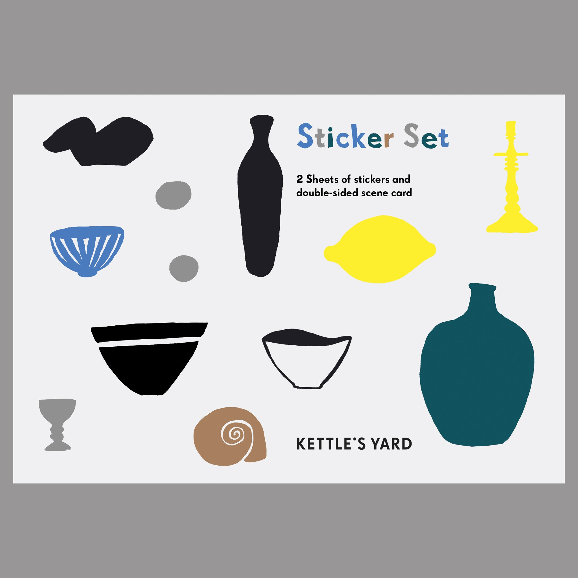 Langham Press Kettle's Yard Sticker Set 1