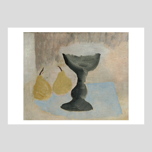 Langham Press Postcard Ben Nicholson 1924 (goblet and two pears) 1