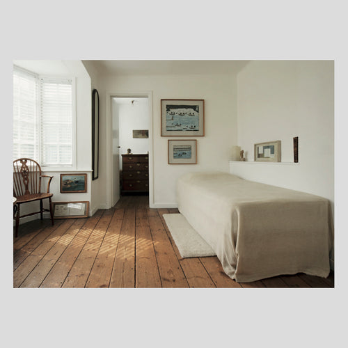 Langham Press Postcard Jim Ede's Bedroom 1