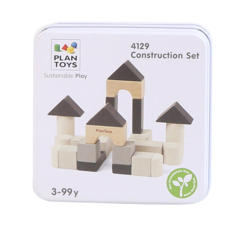 Little Concepts Plan Toys Mini Tin Construction Set 1