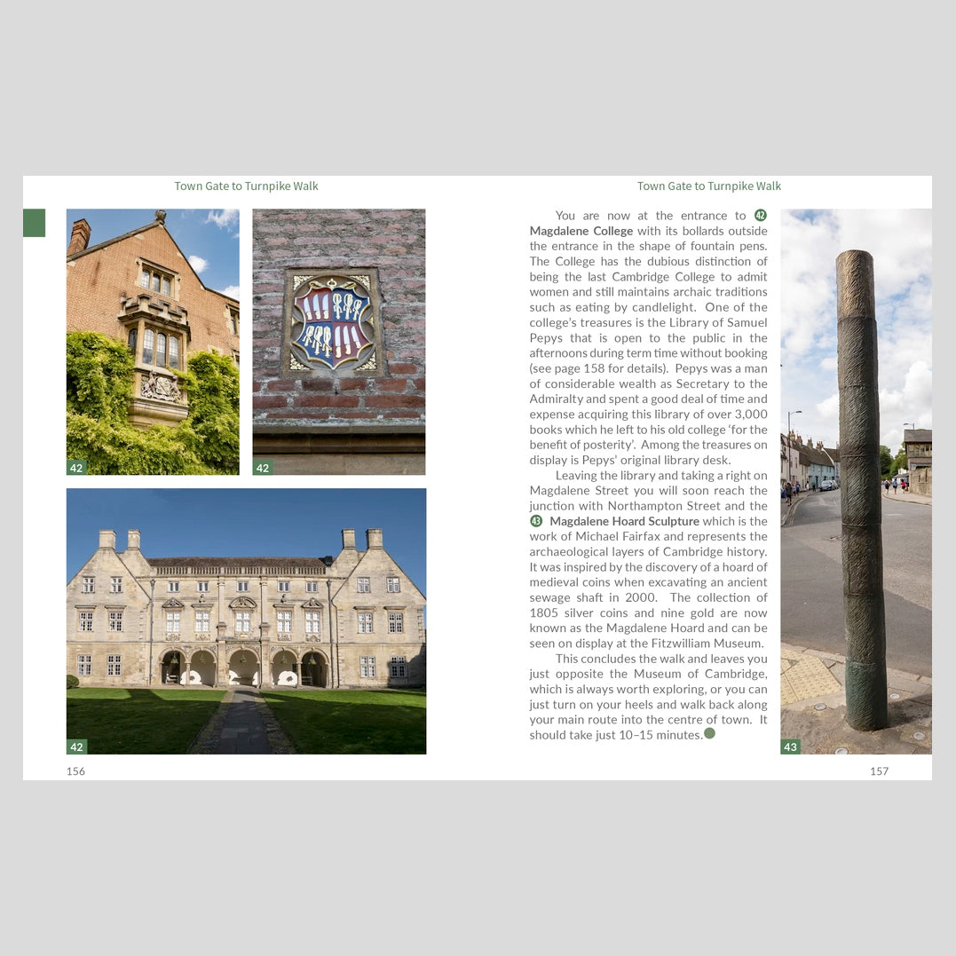 Metro Publications Walking Cambridge: 1000 Years of History in 8 Walks 2