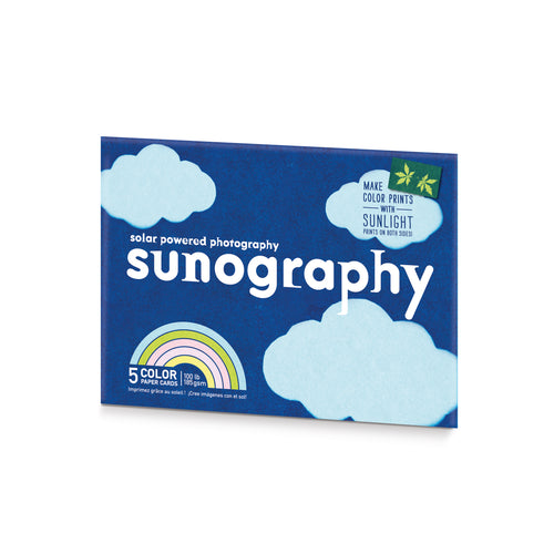 Noted Sunography Color Cards Pack of 5 1