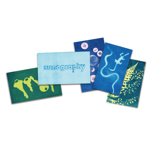 Noted Sunography Color Cards Pack of 5 2