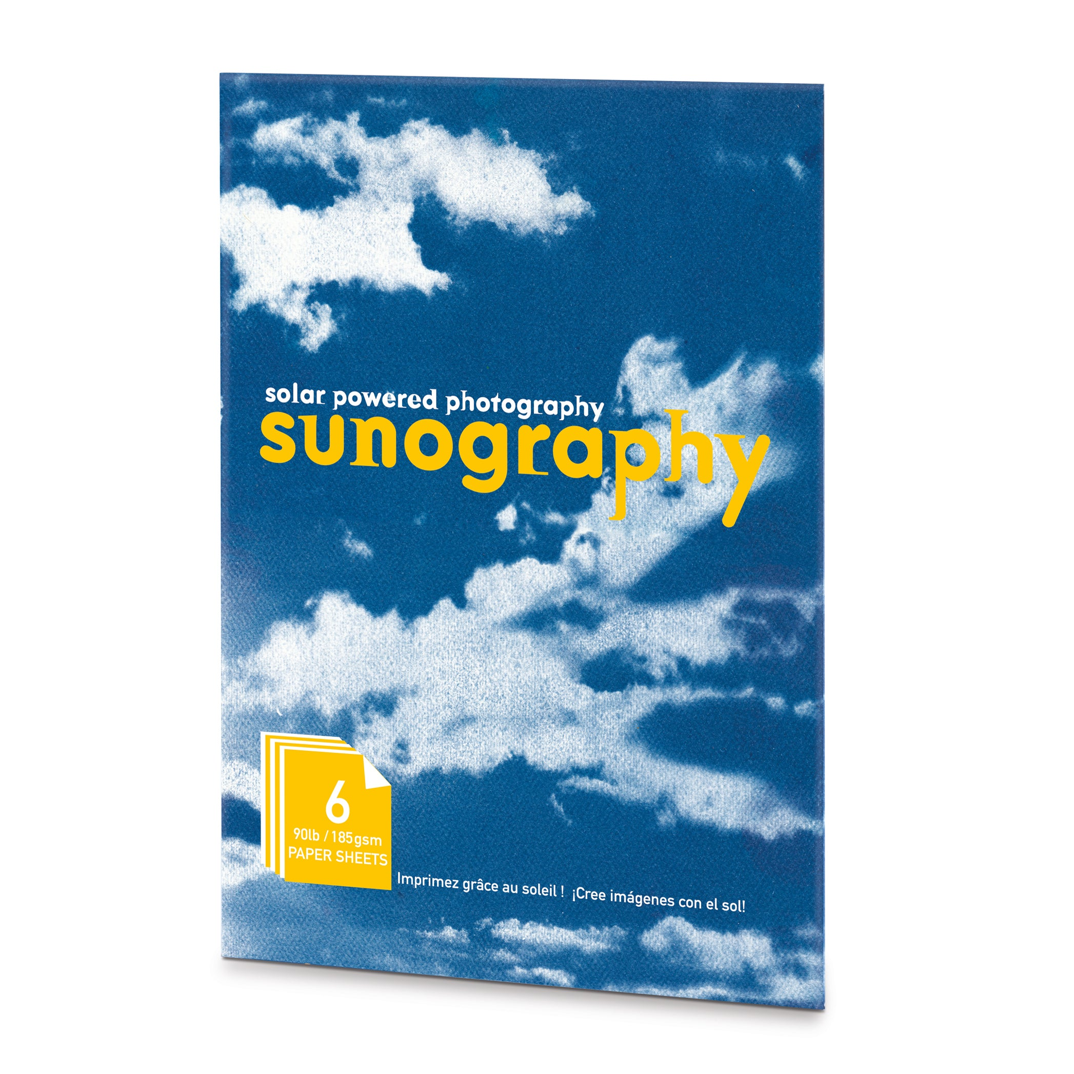 Noted Sunography Paper Pack of 6 1