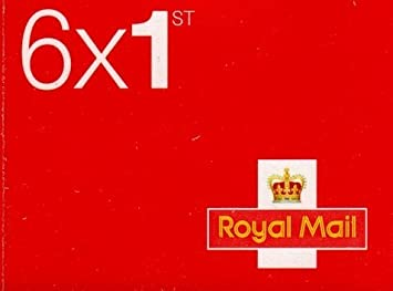 Royal Mail 1st Class Stamp (Book of 6) 1
