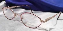 Princess of Ireland Gold Metal Frames with Tortoise Shell Inlays