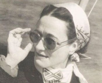 Wallis Simpson Wearing Sunglasses
