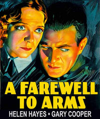 A Farewell to Arms movie poster with Helen Hayes and Gary Cooper